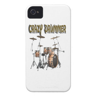 Crazy Drummer iPhone 4 Case-Mate Cases