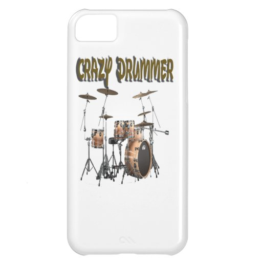 Crazy Drummer Case For iPhone 5C