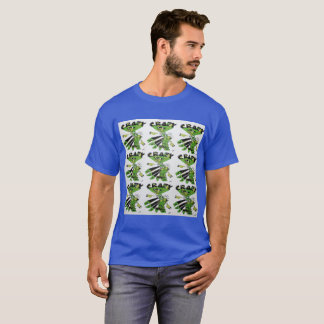 Crazy Eddie Blotter Art Mens T-Shirt