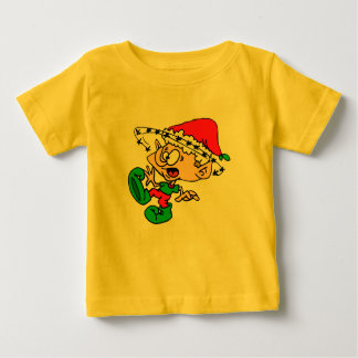 Crazy Elf with Customizable Text Area Baby T-Shirt