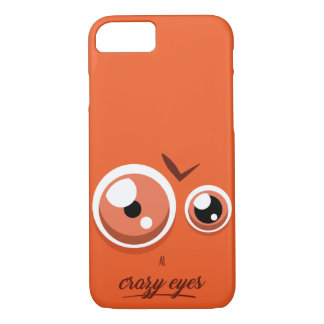 Crazy eyed Al iPhone 8/7 Case