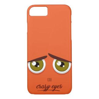Crazy eyed Cole iPhone 8/7 Case