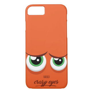 Crazy eyed Harold iPhone 8/7 Case