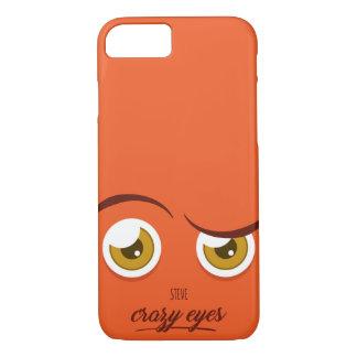 Crazy eyed Steve iPhone 8/7 Case