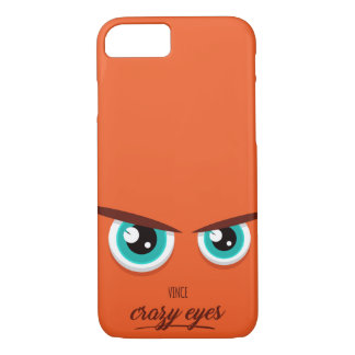Crazy eyed Vince iPhone 8/7 Case