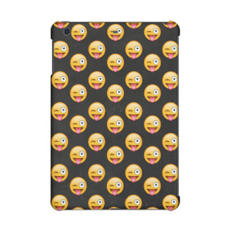 Crazy Face Emoji iPad Mini Retina Covers