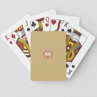 Crazy Face Playing Cards