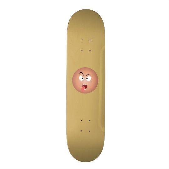 Crazy Face Skateboard