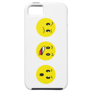 crazy faces iPhone 5 cover