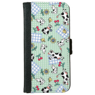 Crazy Farm iPhone 6 Wallet Case