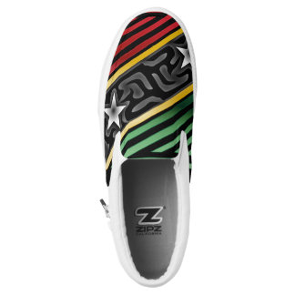 Crazy Flag #188 Slip-On Sneakers