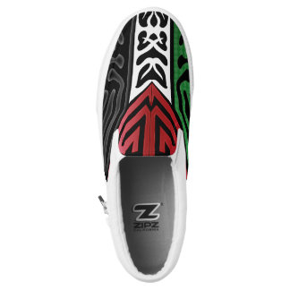 Crazy Flag #82 Slip-On Sneakers