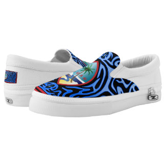 Crazy Flag #93 Slip-On Sneakers