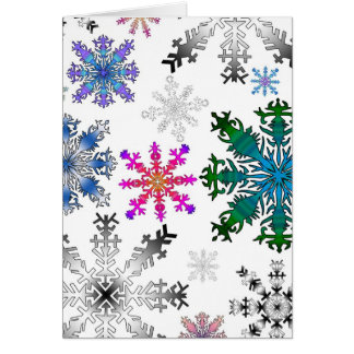 crazy flakes card