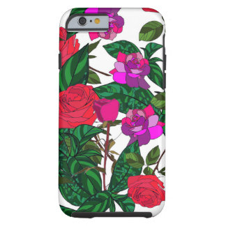 Crazy Flora Tough iPhone 6 Case