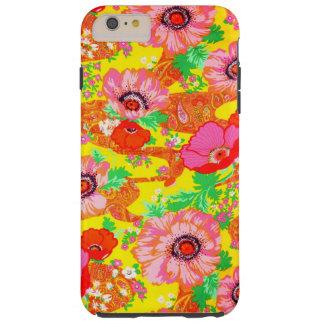 Crazy Floral Tough iPhone 6 Plus Case