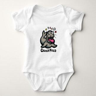 Crazy Foca Baby Bodysuit