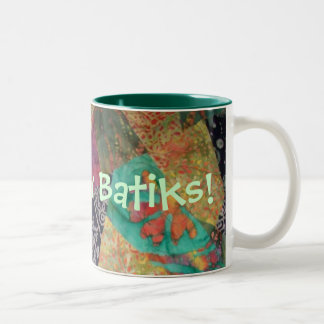 Crazy for Batiks Mug