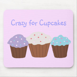 Crazy for Cupcakes Mouse Pad