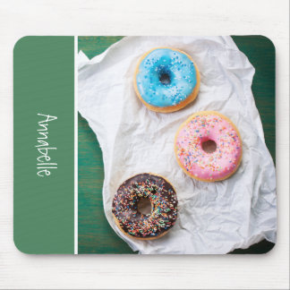 Crazy for Donuts   Personalized Mouse Pad