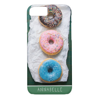 Crazy for Donuts | Personalized Phone Case