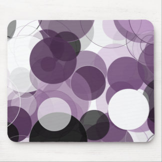 Crazy for Purple Mouse Pad