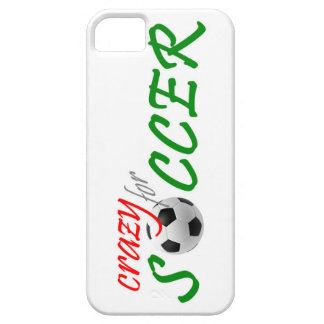 Crazy for Soccer iPhone 5 Cases