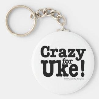 Crazy for UKE Designer Keychain