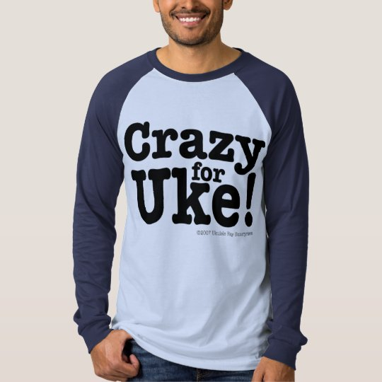 Crazy for UKE Long Sleeve Top
