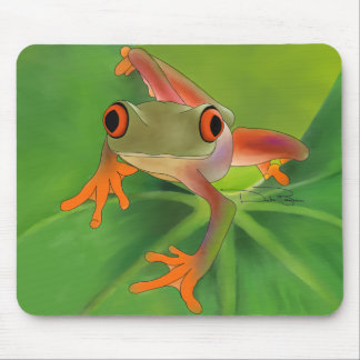 Crazy Frog Mouse Pad