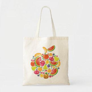 Crazy Fruits Budget Tote Bag