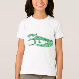 Crazy Gator Cartoon Tshirt