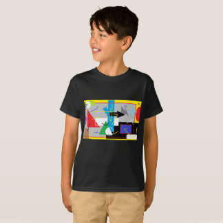 Crazy Geometry Funky T-Shirt