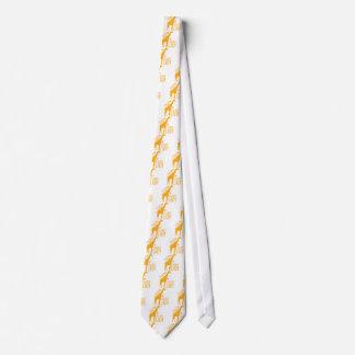 crazy giraffe lady tie