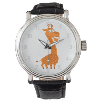 Crazy giraffe watch