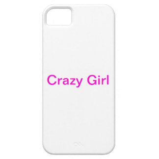 Crazy Girl iPhone 5 Cover