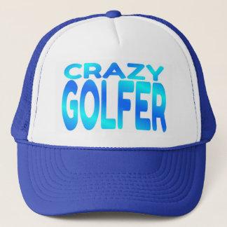 Crazy Golfer Trucker Hat