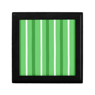 Crazy Green Stripes Gift Box
