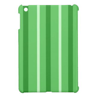 Crazy Green Stripes iPad Mini Cases