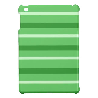 Crazy Green Stripes iPad Mini Cover