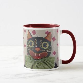 Crazy Halloween Cat Mug