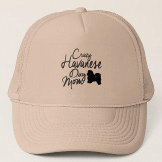 Crazy Havanese Dog Mom Trucker Hat