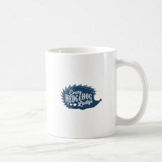 Crazy Hedgehog Lady Coffee Mug