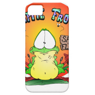 Crazy Hippie Frog Case For iPhone 5/5S