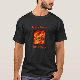 Crazy Horse Flame Shop T Shirt