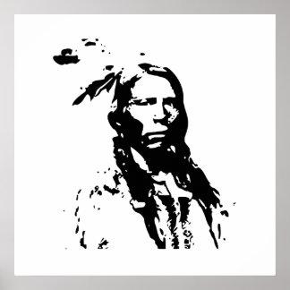 Crazy Horse Native American Leader Canvas Print
