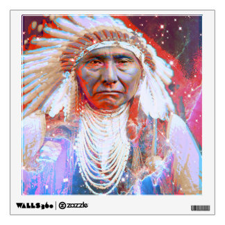 Crazy Horse Wall Decal