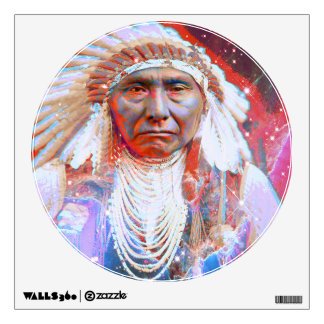 Crazy Horse Wall Sticker