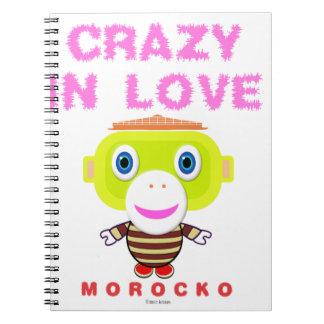 Crazy in love-Cute Monkey-Morocko Notebooks