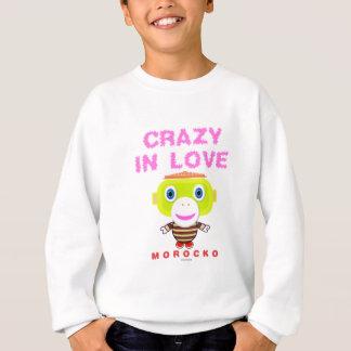 Crazy in love-Cute Monkey-Morocko Sweatshirt